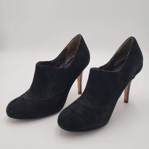 Womens Cole Haan Black Felt Heels Size 5.5B